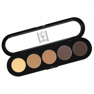 Палитра теней, 5 цветов Make-Up Atelier Paris T26 дымчато-коричневые тона: фото