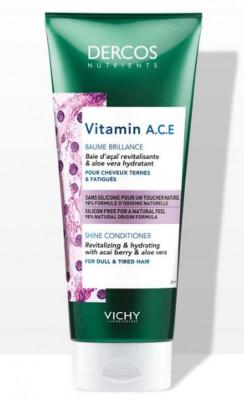 Кондиционер для блеска волос VICHY DERCOS NUTRIENTS Vitamin 200мл: фото