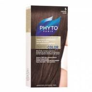 Краска для волос PHYTOSOLBA Phyto Color 5 Светлый Шатен: фото