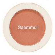 Румяна THE SAEM Saemmul Single Blusher BE02 Flash Beige 5гр: фото