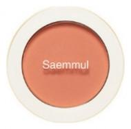 Румяна THE SAEM Saemmul Single Blusher OR04 Pumpkin Latte 5гр: фото
