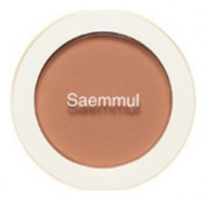 Румяна THE SAEM Saemmul Single Blusher BE03 Knit Beige 5гр: фото
