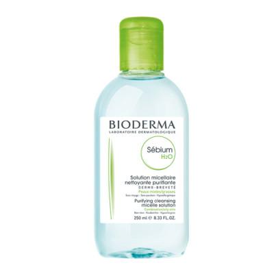 Очищающая вода Bioderma Sebium H2O 250 мл: фото