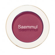 Тени для век матовые The Saem Saemmul Single Shadow Matte RD08 Kill Point Burgundy 1,6гр: фото