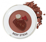 Тени для век матовые Saemmul Single Shadow Matte BR19 Beef steak 1,6г: фото