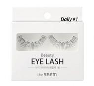 Накладные ресницы THE SAEM Beauty Eye Lash Daily 01: фото