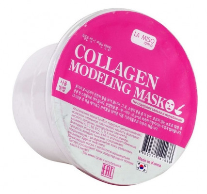 Маска альгинатная с коллагеном для сухой кожи LA MISO Modeling Mask Collagen 28 г: фото