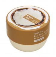 Крем многофункциональный с маслом ши FarmStay REAL SHEA BUTTER ALL-IN-ONE CREAM 300мл: фото