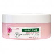 Увлажняющий гель-крем для тела с экстрактом Пиона Klorane  Gel-Crème Hydratant Apaisant Corps à la Pivoine 200 мл: фото