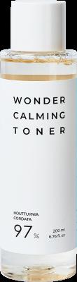 Тонер для лица ESTHETIC HOUSE УСПОКАИВАЮЩИЙ/ХАУТТЮЙНИЯ Wonder Calming Toner, 200 мл: фото