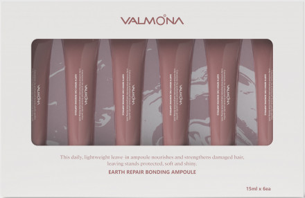 НАБОР Сыворотка для волос ВОССТАНОВЛЕНИЕ EVAS VALMONA Earth Repair Bonding Ampoule 15мл*6шт: фото