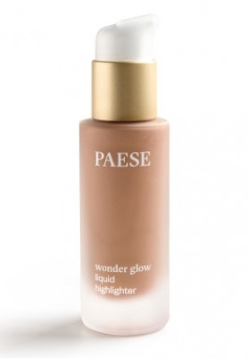 Кремовый хайлайтер PAESE WONDER GLOW LIQUID HIGHLIGHTER тон Bronzed 20мл: фото