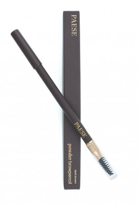Карандаш для бровей Paese POWDER BROW PENСIL тон dark brown: фото