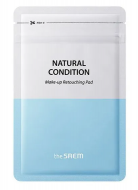 Диски очищающие THE SAEM Natural Condition Make-up Retouching Pad: фото
