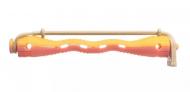 Коклюшки пластиковые желто-розовые Eurostil 80мм 12шт: фото